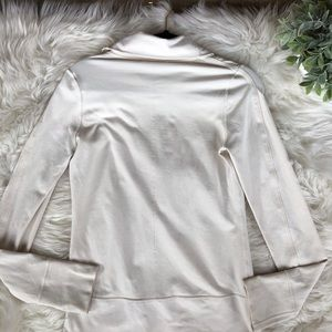 lululemon athletica Jackets & Coats - White Lululemon Athletic Compression Jacket